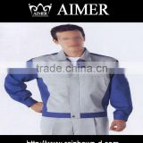 trade assurance solid color polycotton80%poly20%cotton21x21/108x58 fabric for Uniform/ workwear/ factory's workers' clothes