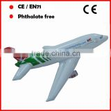 PVC Small inflatable airplane with custom logo and printing for promotion