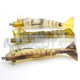 Kmucutie CHS006 In stock soft shrimp lure high quality plastic soft fishing lure for cuttlefish