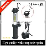 LED Cordless Work Light COB Rechargeable Portable Hand Held Work Lamp With Hanging Hook, Magnetic Holders