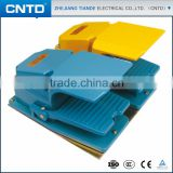 CNTD Chinese Factory Protective Guard Double Action Metal Industrial Foot Switch 2 Step Push Button                                                                         Quality Choice