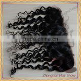 deep wave lace frontal closure human hair brazilian hair lace closure