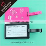 Eco-friendly cheap free luggage tags to print factory direct selling airline luggage tags