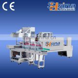 Automatic Plastic Bottle Shrink Wrapping Machine / Package Machinery