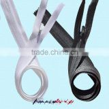 #3 fabric tape close end invisible zipper