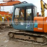 EX60 EX120 EX200 ZX120 ZX240 ZX200 ZX210 EX100WD EX160WD Used Hitachi Excavators on sale