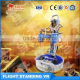 Popular Interactive Virtual Reality Standing Flight VR Simulator with 5d7d9d Cinema game