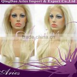 Human Hair Wigs For White Women, Brazilian Hair Front Lace Wigs