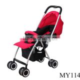 Wholesale newest fashion desigh baby stroller fancy baby stroller carrying trolley for baby with 4colors choices
