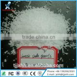 High Quality Flake Detergent Solids Pearls 99% 98% NaOH Chemical Market Price Caustic Soda Flakes/pearls
