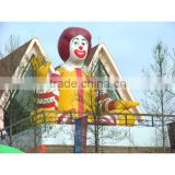 Large inflatable clown balloon, helium clown inflatable modle , Inflatable modle for party