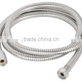 100/120/150cm SS 201 Brass /Zinc Nuts, Brass/Plastic core Stainless Steel Flexible Hoses