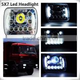 55w square Led work Light fog light Waterproof IP67 7 inch Super Bright for Off-Road /4WD/4x4-Jee-p/Cabin/UTE/SUV/ATV/Truck                                                                                                         Supplier's Choice