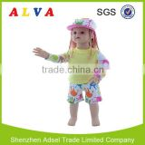 2015 Hot Sale Alva Girls Rash Guards for Kids UPF 50+ Baby Infant Sun protective Clothing
