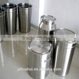stainless steel milk bucket with meter and valve