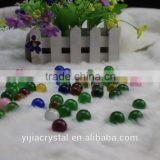 Factory directly wholesale price 16mm European design crystal glass bead for home decoration
