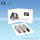 "Top quality 3""customized video greeting card module,video greeting card with LCD screen"