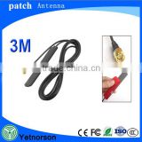 GSM GPRS Patch Antenna 433Mhz 2.5dbi cable SMA male Universal DAB GSM Antenna