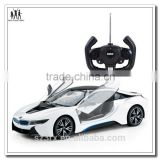 Plastic remote control car model with auto-door design professional make for children's gift