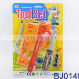 Cheap plastic mechanical toy tool set for kids