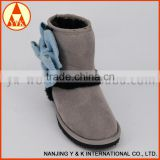 High quality faux suede ladies snow boots
