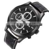 Best buy mens dress fashion leather OEM japan movt quartz watch price