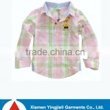 European Kids Wear Boy Check Shirt 2013