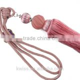 red curtain ball tassel fringe trims for curtains,decorative tassels fringe