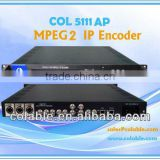 CATV MPEG-2 IP Encoder SDI digital encoder audio video encoder digital tv headend equipment ip streaming encoder COL5111AP