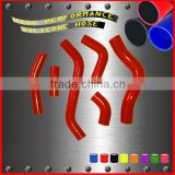 Flexible motorcycle silicone rubber radiator hose kit for Kawasaki KLX450F 2008-2010 Radiator Coolant Hose 6pcs
