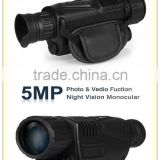 "Night Vision Monocular 200m Range Takes Photos& Video with 1.44"" TFT LCD Monitor"