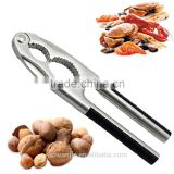 Nut cracker solid metal plier walnut almond sea food shell remover opener tool