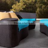 Iceland Garden Outdoor furniture hot sale Patio Rattan wicker balcony canopy Sunday Daybed