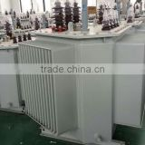 Three Phase Solid Triangle Rolling Iron Core Distribution Transformer Oil Immersed Highly-Effective 50-2500 KVA
