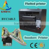 3d effect high quality good services multicolor digital shoes printer sneakers printing machinery