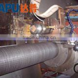 Stainless steel wire filter tube mesh welding machine