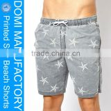 Domi sex image photo star print design adult board shorts and custom beach shorts and denim board shorts