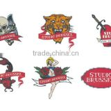 Hot selling water transfer tattoo sticker/temporary body tattoo stickers/tattoo sticker supplier