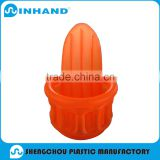 Inflatable Floating Cooler,Inflatable Ice Bucket with Beer Holder,inflatable beverage Orange cooler