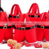 Yiwu Wholesale Low Price Pants Style Funny Candy and Gift Bag Christmas Decoration Gift Bag