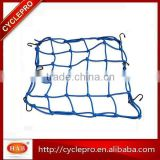 Elastic Motorcycle Luggage Net with plastic hooks Cargo Nets Bungee Cord Net