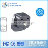 3Pin American Standard Plug/Electrical Plug/uk to euro plug adapter