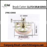 spare parts for brush cutter, grass trimmer clutch drum series, all size clutch drum for garden machine