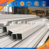 Good! Specialized powder coating aluminium tubing/ slide door aluminum profile factory good offer snow white aluminum profiles