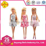 2016 DEFA NEW wholesale DOLL,online doll dress-up girl games,american fashion girl baby doll with doll dress approved by EN71