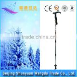 Hot sale T Walking Cane Trekking Pole Telescope Hiking Stick Mountaineering Climb Ultralight Nordic