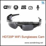 Full HD hidden safety camera glasses wifi video glasses with wireless camera wifi camera glasses