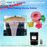 low shrinkage tin cured liquid silicone rubber