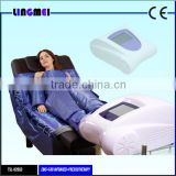 Lingmei manufacturer EMS infrared pressotherapy infrared slimming body wraps suit for weight loss &detox