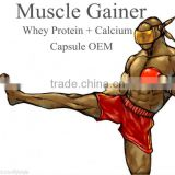 body building capsule sport product whey protein calcium capsule immune & anti-fatigue product gain weight gain muscle